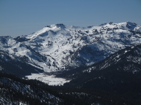 Squaw Valley view from Northstar