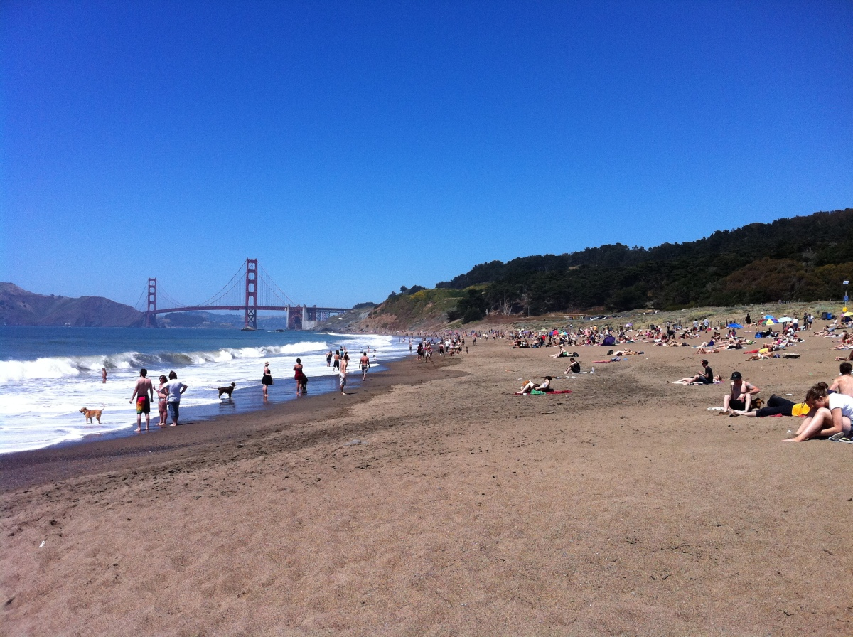top 5 beaches in san francisco try this travel. Black Bedroom Furniture Sets. Home Design Ideas