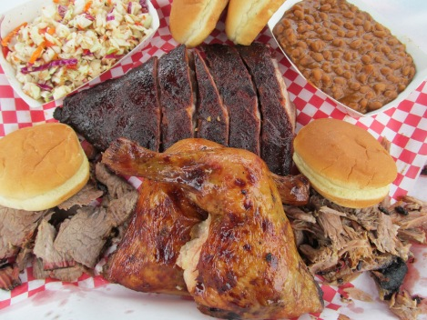 Mikes Four Star BBQ - Four Way $38!!!