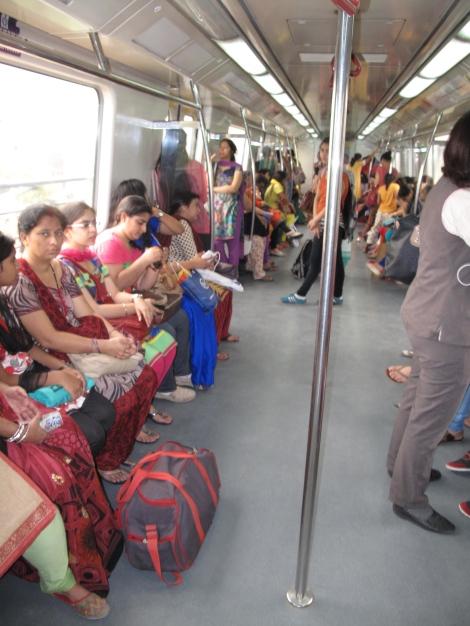 Ladies only Metro Car