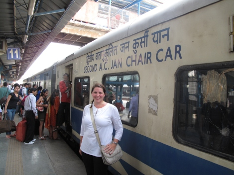 one of two AC cars - Train to Hardiwar