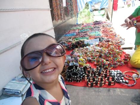 McLeo Ganj Market cutest shopper