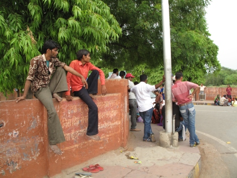 Chillin in Agra