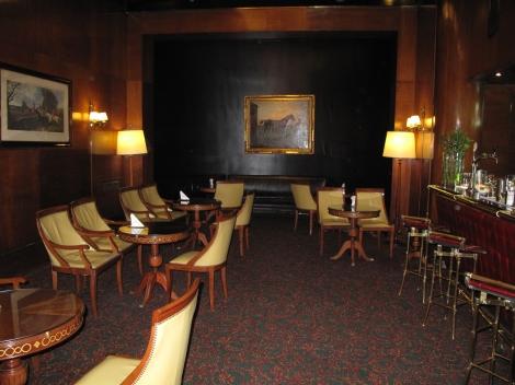 Plaza hotel bar