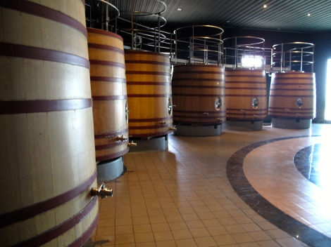 Only half of the barrel room
