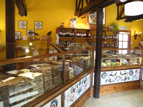 Chocolate store - one of dozens
