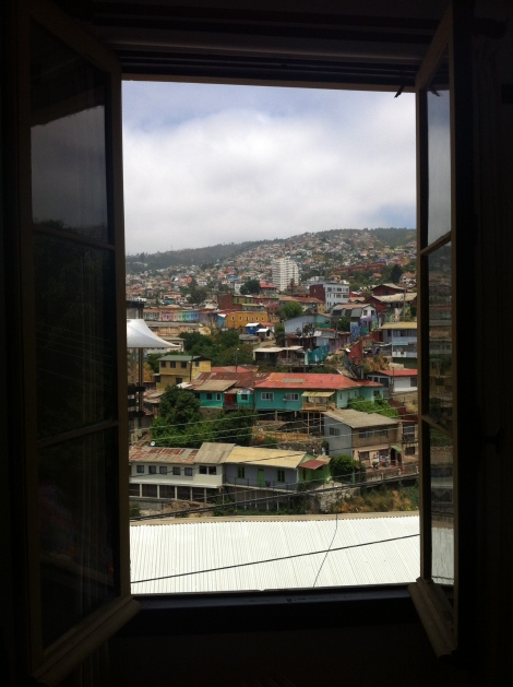 Valparaiso - view from my room!