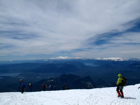 View from Pucon Volcano