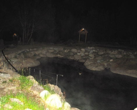 Los Pozones Natural Hot Springs