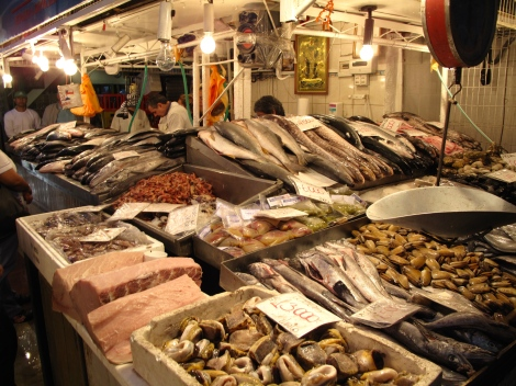 Famous Fish market 8am
