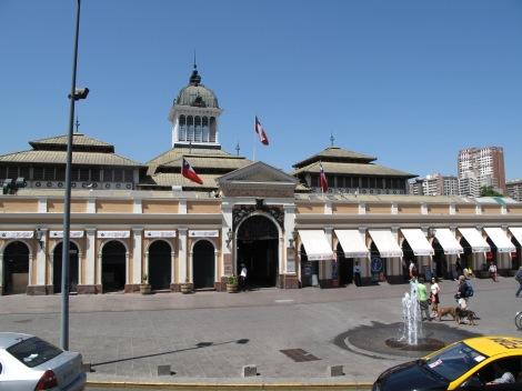 Mercado Central - fish market - go early