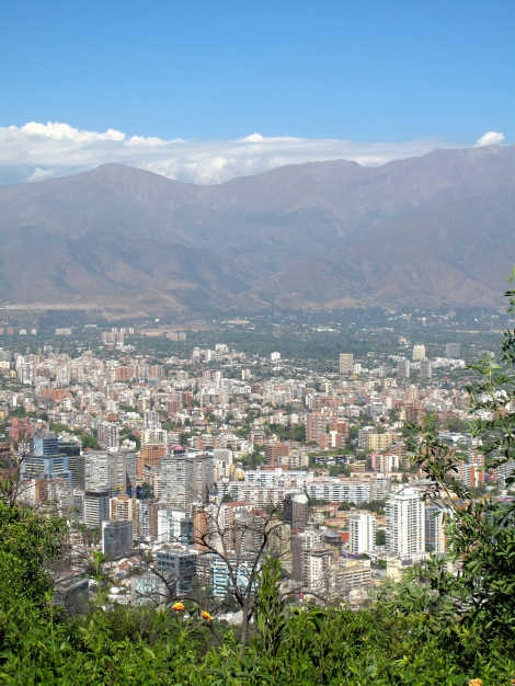 Middle Santiago (look left from above photo)