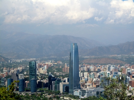 Modern Santiago (look left even more than above)