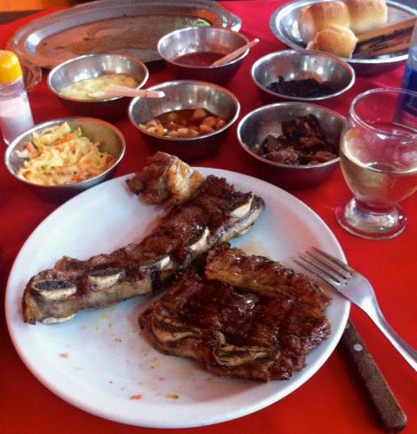 Thanksgiving Dinner in Argentina